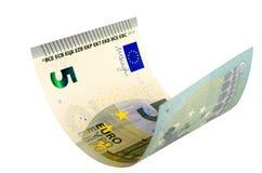 Cinque euro Fotografia Stock Libera da Diritti