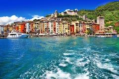cinque Italy portovenere terre zdjęcia stock