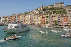 cinque Italy portovenere terre Zdjęcie Royalty Free