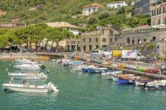 cinque Italy portovenere terre Zdjęcia Royalty Free