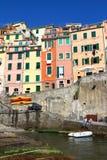 cinque Italy riomaggiore terre zdjęcia royalty free