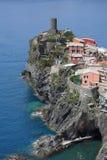 cinque Italy terre vernazza Fotografia Stock