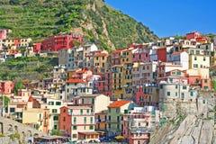 cinque manarola της Ιταλίας terre στοκ εικόνα