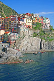 cinque manarola της Ιταλίας terre στοκ φωτογραφία