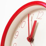 Cinque minuti alla mezzanotte Immagini Stock