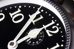 Cinque minuti alla mezzanotte Fotografie Stock Libere da Diritti
