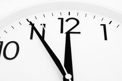 Cinque minuti a dodici Fotografia Stock Libera da Diritti