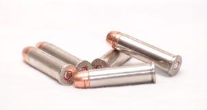 Cinque 357 pallottole Immagini Stock