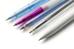 Cinque penne Immagini Stock