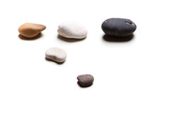 Cinque pietre Immagine Stock