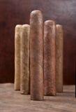 Cinque sigari Fotografia Stock Libera da Diritti