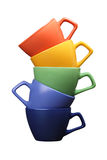 Tazze ceramiche Fotografia Stock