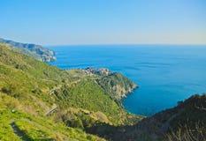 Cinque Terra Italian Riviera Stock Photos