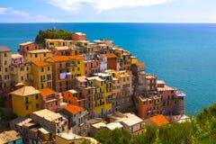 Cinque Terre,意大利 库存图片