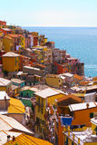 Cinque Terre,意大利 免版税库存照片