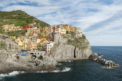 Cinque Terre,意大利 图库摄影