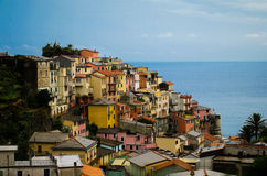 Cinque Terre- Ιταλία στοκ εικόνες