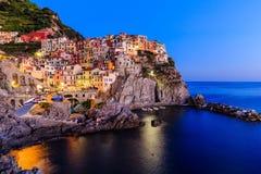 Cinque Terre, Италия Стоковое Изображение RF