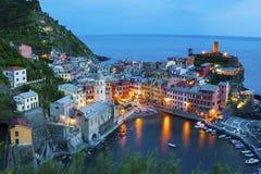 Cinque Terre, Италия Стоковые Изображения RF