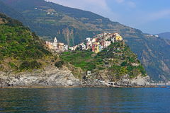 Cinque terre_3. A beautiful piece of Land in Liguria (Italy) called cinque terre, i.e. five villages, this is one of them: Manarola Royalty Free Stock Photo