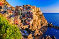 Cinque Terre, Ιταλία Στοκ φωτογραφία με δικαίωμα ελεύθερης χρήσης