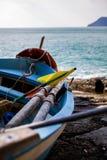 Cinque Terre, barco Foto de archivo