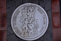 Cinque-terre Bildnis Lizenzfreies Stockbild