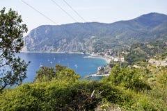 Cinque Terre Coast Royalty Free Stock Photos