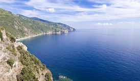 Cinque Terre coastline Royalty Free Stock Photo