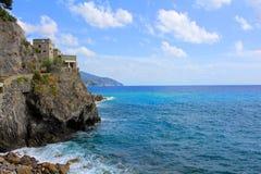Cinque Terre Coastline, Italy Stock Photography