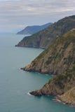 Cinque terre coastline Stock Image
