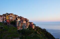 Cinque terre corniglia. Corniglia village of cinque terre in Italy Royalty Free Stock Images