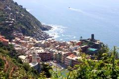 Cinque Terre en Italie Images libres de droits