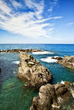 Cinque Terre et x22 ; Cinq Lands& x22 ; Photographie stock libre de droits