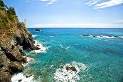 Cinque Terre et x22 ; Cinq Lands& x22 ; Photo libre de droits