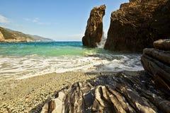 Cinque Terre et x22 ; Cinq Lands& x22 ; Photos libres de droits