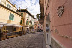Cinque Terre fabulosa Fotografía de archivo