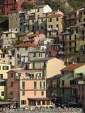 Cinque Terre Houses Fotografía de archivo
