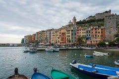 Cinque terre in Italië Stock Foto's
