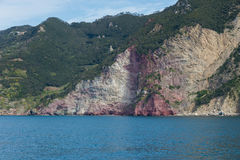 Cinque terre in Italië Stock Foto