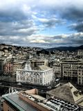 Cinque Terre, Italië, de Bouwvoorgevel stock foto's