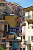 Cinque Terre Itali? stock afbeelding