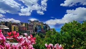 Cinque Terre, Italia Imagenes de archivo
