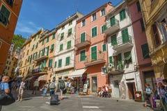 Cinque Terre, Italia Imagen de archivo libre de regalías