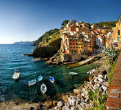 Cinque Terre, Italien Stockfotografie