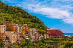 Cinque Terre, Italien Stockbilder