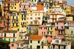 Cinque Terre- Italien Stockbild