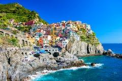 Cinque Terre, Italien Arkivfoto