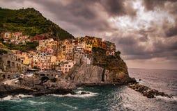 Cinque Terre, Italien fotografering för bildbyråer