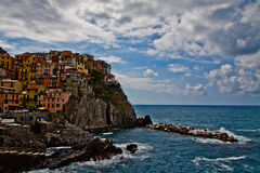 Cinque Terre, Italy. Hill town of Cinque Terre. Liguria, Italy Stock Photo